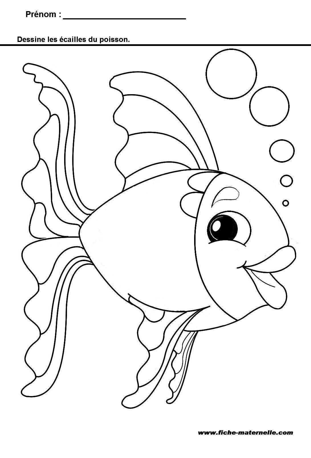 Comment dessiner des ecailles - Dessiner un poisson facilement ...