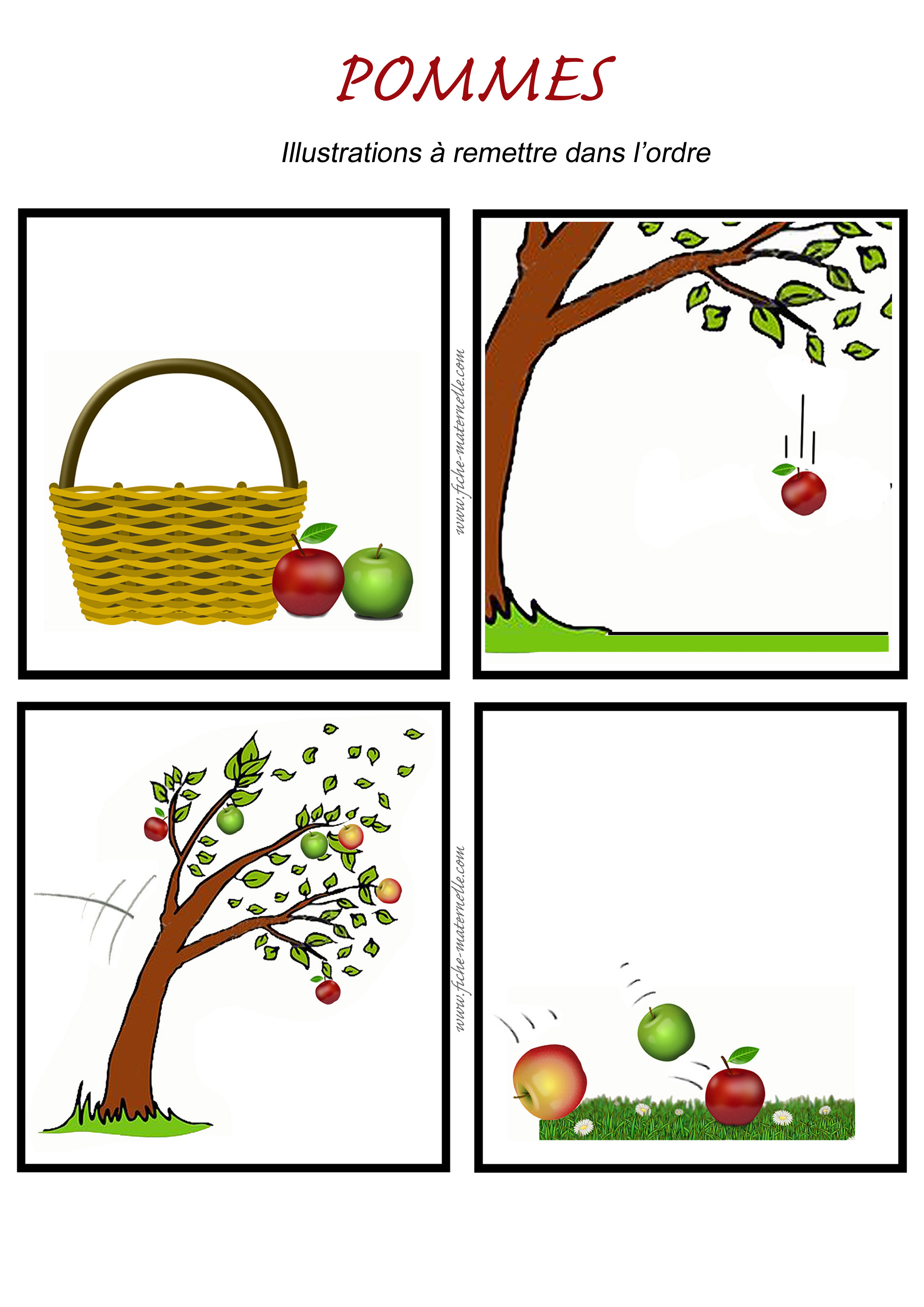 Poésie Dautomne Pommes