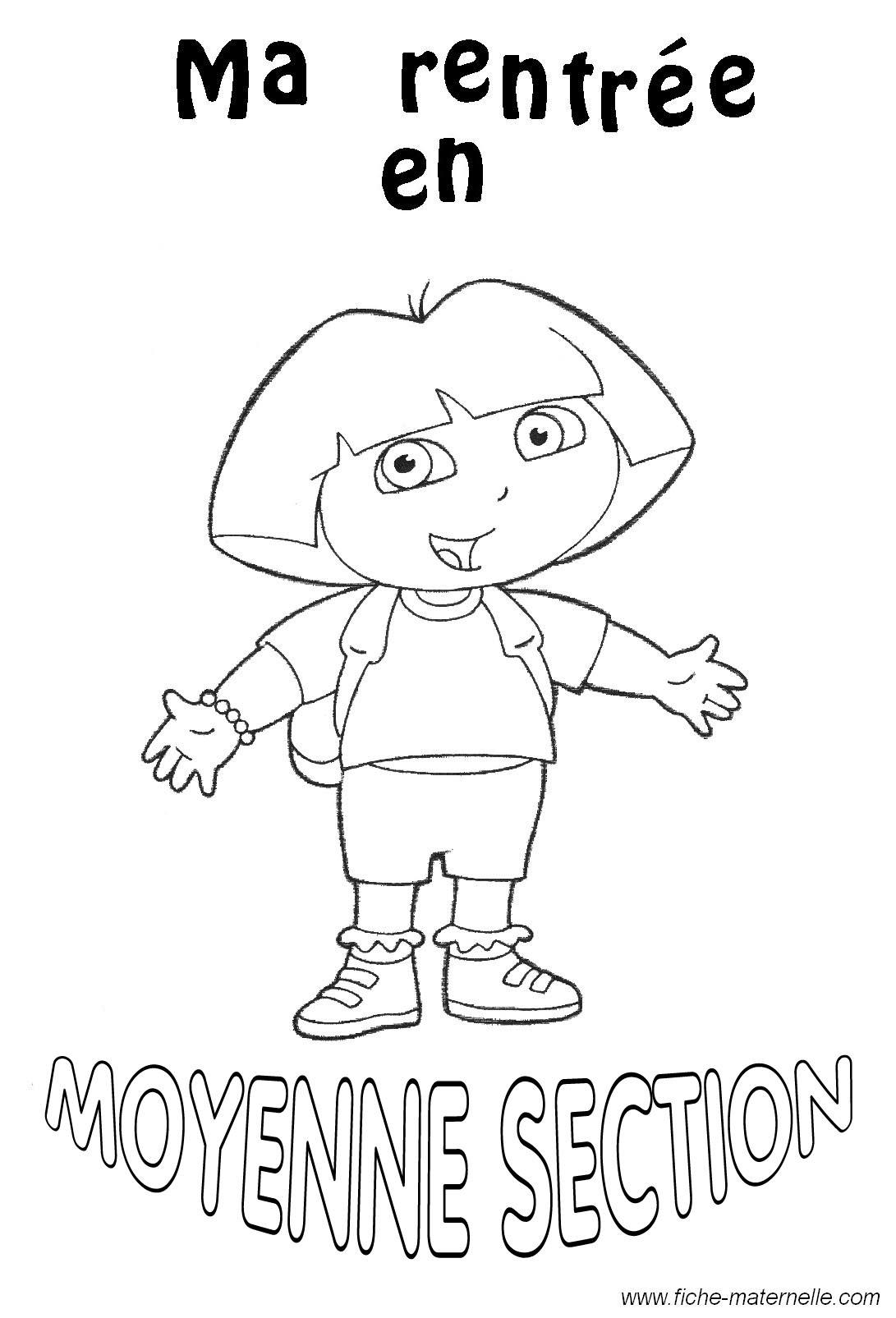Beautiful Coloriage Maternelle Petite Section Charmant