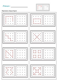 Mathematiques Deplacements Codes Et Symetrie En Grande Section Moyenne Section Et Cp