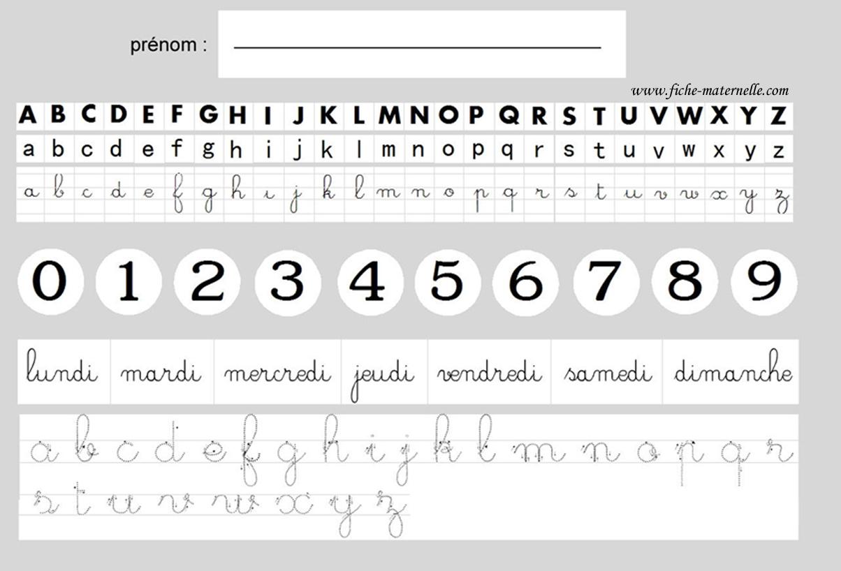 Un outil pratique pour l'élève de maternelle : le Sous-Main pour s ...