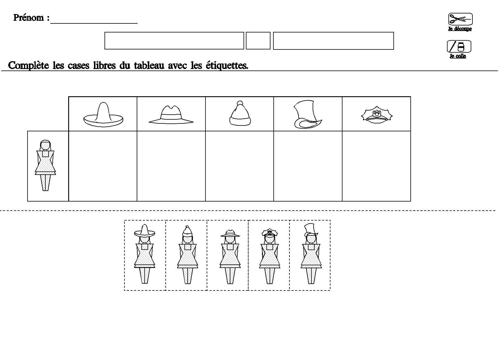 Turbo tableau double entrees pour maternelle moyenne section grande section PN51