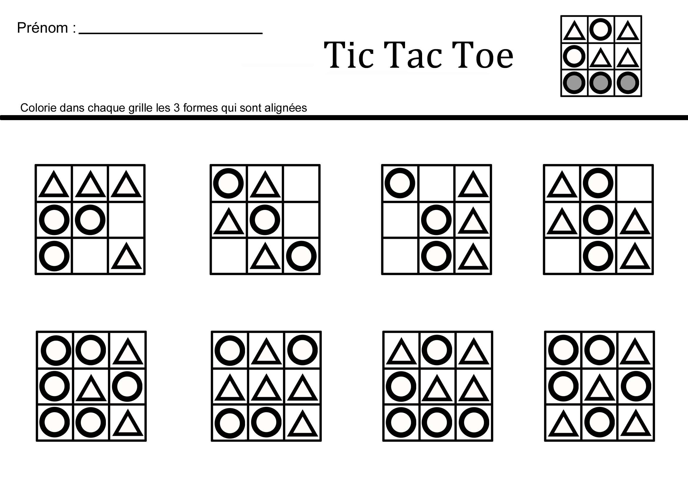 Jeux de tic tac toe arcade fever - Comment fabriquer le jeu tac tik ...